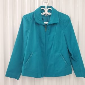 Allison Daley | Petite Zip Closure Jacket
